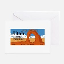 Welcome to Utah - USA Greeting Cards (Pk of 10
