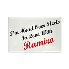 In Love with Ramiro Rectangle Magnet