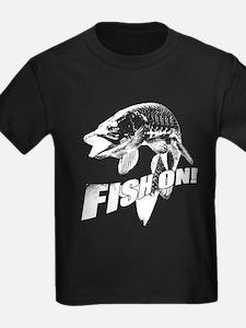 Fish on musky T