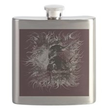 New moon Quiluete Poster Flask
