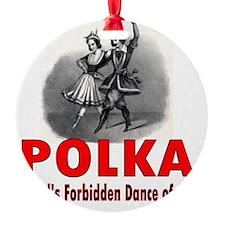 ART Forbidden Polka 1 Ornament
