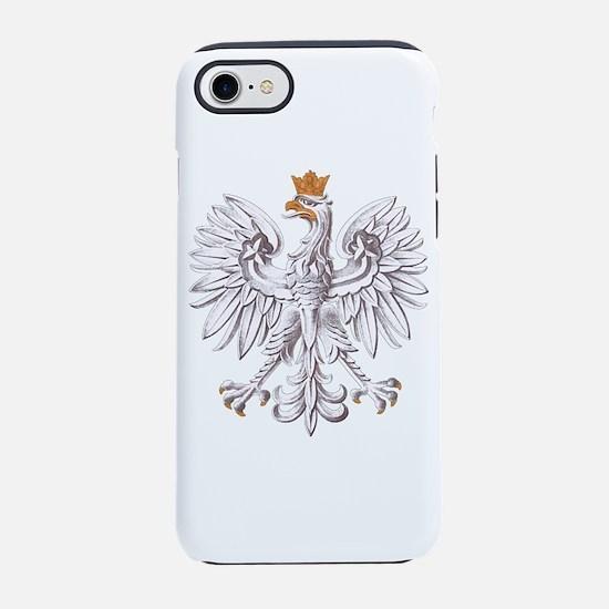 White Eagle of Poland iPhone 7 Tough Case
