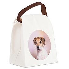Circle 2 Canvas Lunch Bag