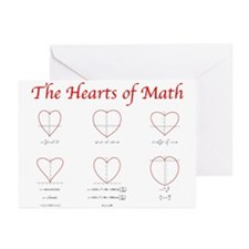 Hearts of Math Greeting Cards (Pk of 10)