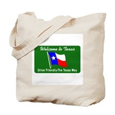 Welcome to Texas - USA Tote Bag