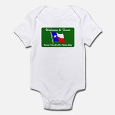 Welcome to Texas - USA Infant Bodysuit