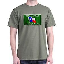 Welcome to Texas - USA T-Shirt