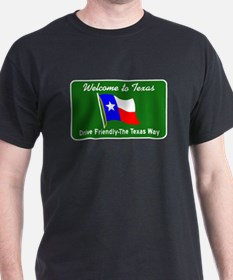 Welcome to Texas - USA T-Shirt