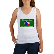 Welcome to Texas - USA Women's Tank Top