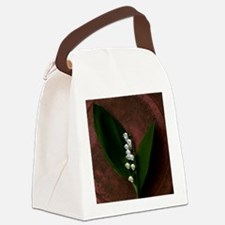 Lily of the Valley Keepsake Canvas Lunch Bag