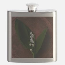 Lily of the Valley Keepsake Flask