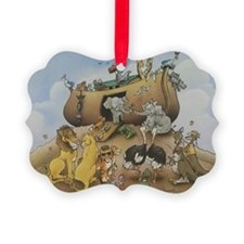 noahs ark 12x9 Ornament