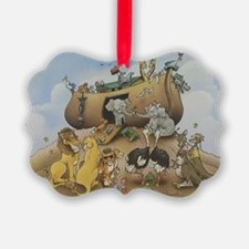 noahs ark 12x9 Ornament