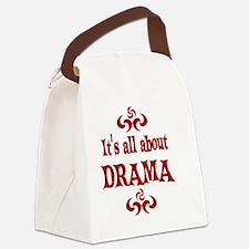 2-DRAMA Canvas Lunch Bag