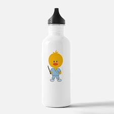 SurgTechChickDkT Water Bottle