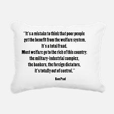 paulwel Rectangular Canvas Pillow