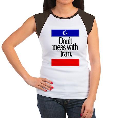 Don't Mess with Iran Women's Cap Sleeve T-Shirt