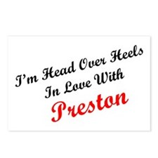 In Love with Preston Postcards (Package of 8)