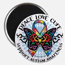 Autism-Butterfly-Tribal-2 Magnet