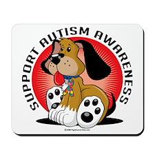Autism-Dog Mousepad