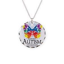 Autism-Butterfly Necklace