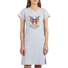 Autism-Butterfly Women's Nightshirt