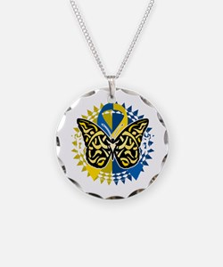 Down-Syndrome-Butterfly-Trib Necklace