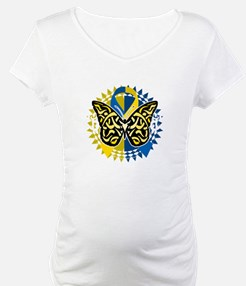 Down-Syndrome-Butterfly-Tribal-2 Shirt