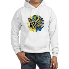 Down-Syndrome-Butterfly-Tribal-2 Hoodie