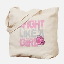 BC-Fight-Like-A-Girl-2-blk Tote Bag