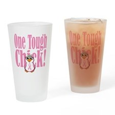 BC-One-Tough-Chick-blk Drinking Glass