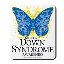 Down-Syndrome-Butterfly Mousepad