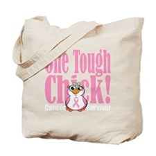 BC-One-Tough-Chick-blk Tote Bag