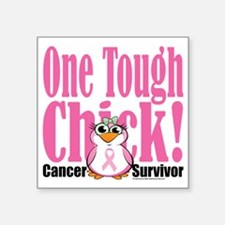"BC-One-Tough-Chick Square Sticker 3"" x 3"""