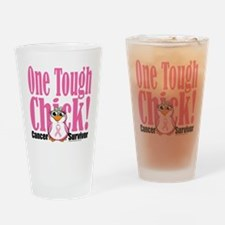 BC-One-Tough-Chick Drinking Glass
