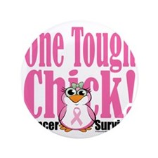 "BC-One-Tough-Chick 3.5"" Button"