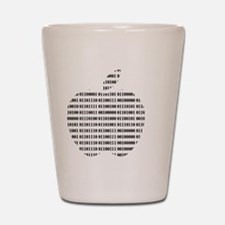 Apple Binary Shot Glass
