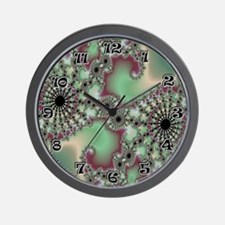 "Fractal S~09 10"" Wall Clock"