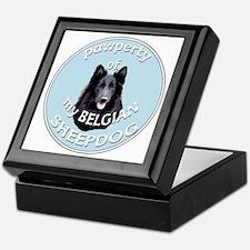 PAWPERTY OF BELGIAN SHEEPDOG Keepsake Box