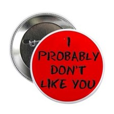 "I PROBABLY DONT LIKE YOU 2.25"" Button"