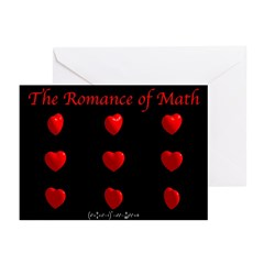 Romance of Math Greeting Cards (Pk of 10)