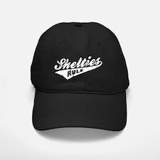 Shelties-Rule-Ballpark-Style-dark Baseball Hat