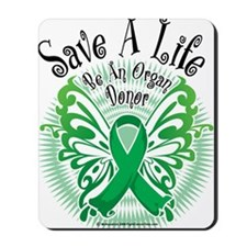 Organ-Donor-Butterfly-3 Mousepad