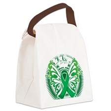 Organ-Donor-Butterfly-3-blk Canvas Lunch Bag