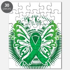 Organ-Donor-Butterfly-3-blk Puzzle