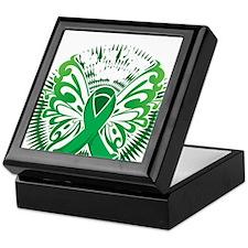 Organ-Donor-Butterfly-3-blk Keepsake Box
