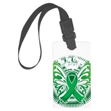 Organ-Donor-Butterfly-3-blk Luggage Tag