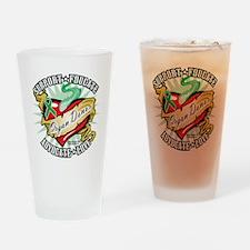 Organ-Donor-Classic-Tattoo Drinking Glass