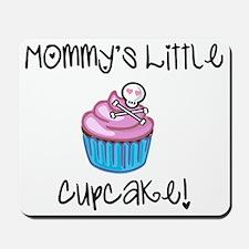 Mommys cupcake skull Mousepad
