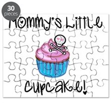 Mommys cupcake skull Puzzle